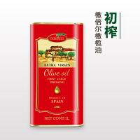 西班牙原装进口 橄倍尔特级初榨橄榄油1L食用油 酸度≤0.4