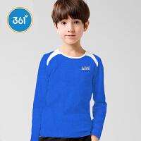 【1件2折到手价:37.8】361°361度春季男童圆领T恤K56411011