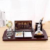 2018年木质台历架定制批发商务仿办公室桌面笔筒摆件礼品 621地球款(24cmx 48cm)