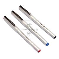 三菱UB日本UNI-125中性笔 高性价耐走珠水笔0.5mm水性直液式