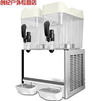 双缸饮料机 商用冷饮机18L大容量自助餐酒店 现调果汁机