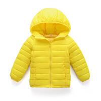 儿童羽绒男童轻薄款女童棉衣宝宝秋款外套