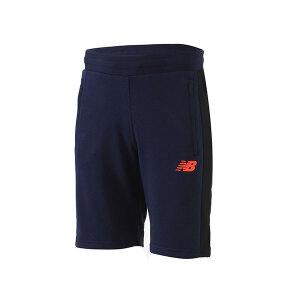 New Balance/NB男装短裤2018夏季针织跑步运动裤AMS71634