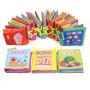 米米智玩 婴儿撕不烂布书 宝宝早教布书带响纸系列 婴儿玩具0-1-3岁 宝宝礼物