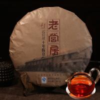 [当当自营] 云南普洱茶熟饼 老营房十年陈仓老茶熟茶   357克/片