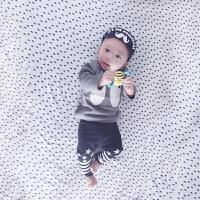 婴儿童套装男女宝宝爬服春秋季衣服0岁3个月新生儿衣服冬季秋装6