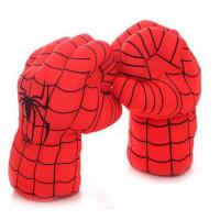 鑫诺儿童毛绒玩具创意蜘蛛侠绿巨人拳击手套送小孩生日礼物六一儿童节礼物