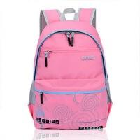 七夕礼物儿童书包3-6高年级中小学生书包 男女生减负双肩背包防水 粉色