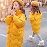 女童棉衣冬装洋气儿童冬季外套中大款棉袄潮