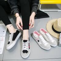 匡王2017新款帆布鞋女百搭学生板鞋韩版休闲鞋平底板鞋小白鞋