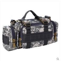 时尚迷彩大容量手提包户外胸包挂包防水骑行旅游包战术腰包斜跨单肩包背包
