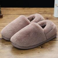 月子鞋女冬产后春秋产妇软底包跟室内孕妇可外穿厚底保暖居家棉拖