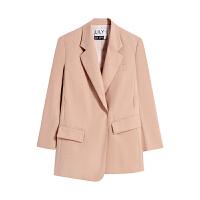 【2件3折 折后价:181】LILY女装不对称设计感宽松休闲西装外套