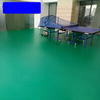 乒乓球地胶羽毛球场地胶垫 pvc塑胶地板室内球馆防滑运动地板