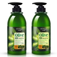 泊泉雅橄榄洗发水 露护发素洗护套装组合止痒清爽控油 洗护