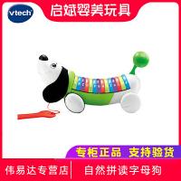 伟易达VTech自然拼读字母狗 早教英语学习教具宝宝拖拉玩具1-6岁