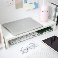 办公室台式电脑显示器增高架子抬高桌面收纳整理宿舍置物架ins风