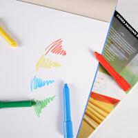 儿童画画本8K黑白卡纸绘画本涂色本幼儿园画画涂鸦书画册用品
