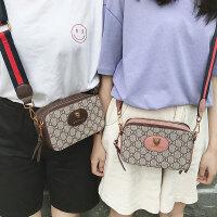 夏季小包女20182018新款欧美时尚小方包明星同款宽肩带斜挎单肩包