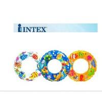 INTEX-59242儿童救生圈 游泳圈 浮圈 适合6-10岁直径61CM