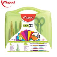 Maped马培德601011礼盒装10件套花边剪刀 儿童趣味手工安全剪刀