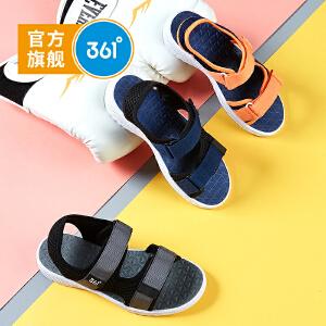 【下单立减3折价:65.7】361度 男童沙滩凉鞋 夏季新款N71824662