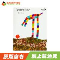【5折封顶】凯迪克 英文原版绘本 原装进口 名家Leo Lionni作品 Pezzettino【平装】
