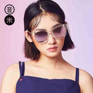 INMIX音米眼镜时尚百搭太阳镜 女圆脸偏光镜男潮人墨镜