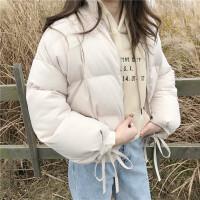 女冬季28新款短款小棉袄韩版宽松百搭ins棉衣学生面包服潮 均码