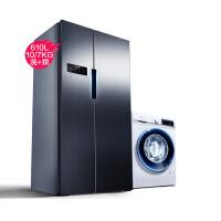 【官方正品】西门子冰洗套餐KA92NV66TI+WN54A1X00W