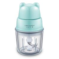 婴儿营养食物料理机宝宝辅食机婴儿食物研磨器小型料理机 粉蓝色