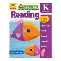 【首页抢券300-100】Evan Moor At-Home Tutor Reading Grade K 家中导师幼儿园