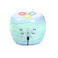 大号智能拨浪鼓灯光音乐宝宝发光手摇铃婴儿童玩具0-3岁 (充电款)