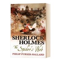 福尔摩斯 蜘蛛的网 英文原版小说 Sherlock Holmes The Spider's Web 英文版进口原版英语书