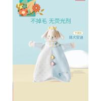 可优比婴儿安抚巾毛绒玩具玩偶布艺安抚手偶宝宝口水巾0-1岁陪睡j8w