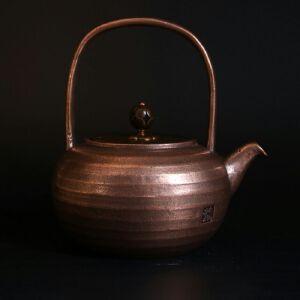 手工紫铜铜壶AA314615