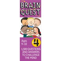 Brain Quest Grade 4, revised 4th edition 智力开发系列:4年级益智 ISBN9