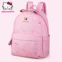 HelloKitty凯蒂猫 KT1137粉色 儿童书包 女童韩版甜美 1-3年级减负护脊书包