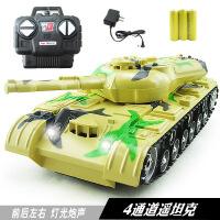 儿童仿真模型玩具 灯光音乐充电1:22四通遥控坦克