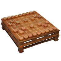 中国象棋桌套装5分实木象棋子刺猬紫檀棋盘TX-618