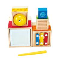 Hape五重乐器套盒18个月以上婴幼儿音乐玩具早教益智E0336