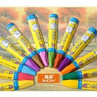 [特价]真彩正品六角形蜡笔2966A-12色 18色 24色 36色 酷丫油画棒