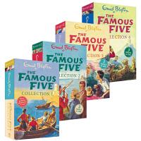 【首页抢券300-100】Enid Blyton伊妮德・布莱顿The Famous Five Collection 1-