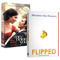 Flipped 怦然心动 英文原版小说2本套装 遇见你之前 我就要你好好的 Me Before You 英文版英语电影原