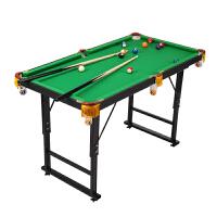 儿童台球桌 斯诺克桌球台 家用标准迷你折叠玩具大号桌球台