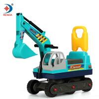 大玩具儿童挖掘机可坐可骑可乘工程车早教童车学步滑行车
