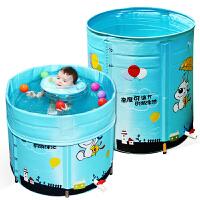 新生幼儿童支架泳池小孩保游泳桶婴儿游泳池家用