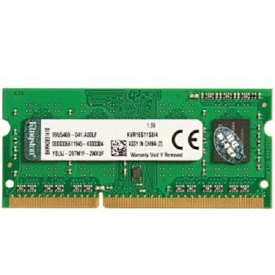 金士顿(Kingston)DDR3 1600 4g  4GB 笔记本内存条 本产品只支持1.5V内存电压设备,请购买产品前再次确认您的设备是否支持常规电压内存(1.5V)! 低电压(1.35v)内存兼容性更好!