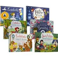 【首页抢券300-100】Fairy Tale Pop-Up Book Collection 经典童话故事立体书 6册套