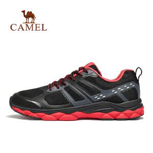 camel骆驼运动鞋2018男士休闲鞋轻便防滑透气减震网面旅游鞋学生跑步鞋